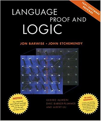 language proof and logic exercise answers