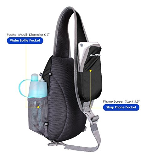 Waterfly Chest Sling fashionable shoulder backpack for men