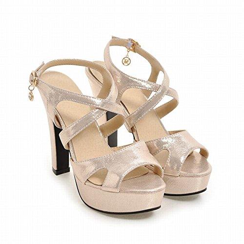 Sandal Oro Elegante Donna Sandali MissSaSa 0nqgEB