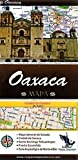 Oaxaca, Mexico, State and Major Cities Map (Spanish Edition)