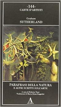 Book Parafrasi della natura e altri scritti sull'arte