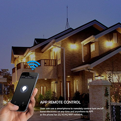 Teepao Smart Dimmer Switch, Wireless Wifi Touch Dimmer Wall Panel
