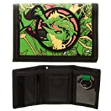 Best bioworld Wallet Trifolds - Bioworld- Pokemon Rayquaza Trifold Wallet- PVC Patch Velcro Review