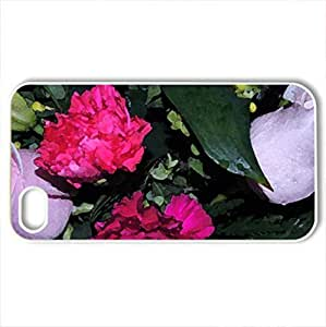 Roses In Baby PiCase For Iphone 6 Plus (5.5 Inch) Cover (Flowers Series, Watercolor style, White)