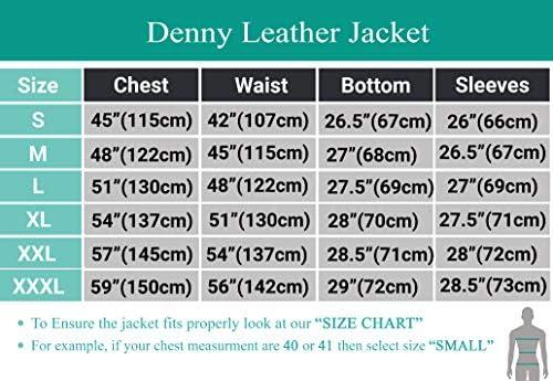 Z8 Mens Leather Jacket Slim Fit – Mens Jacket Motorcycle Biker Cafe Racer Style – Real Lambskin Leather Jacket for Mens