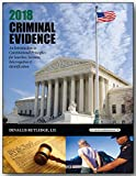 img - for 2018 CRIMINAL EVIDENCE book / textbook / text book
