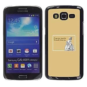Stuss Case / Funda Carcasa protectora - Funny Quote Work Sexual Coworker Women Men - Samsung Galaxy Grand 2 SM-G7102 SM-G7105