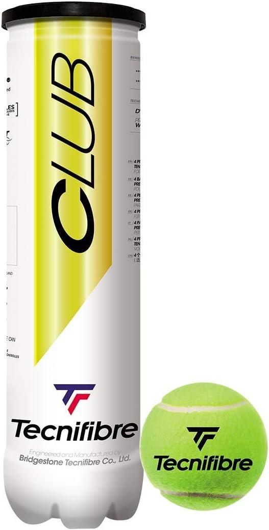 Tecnifibre - Tubo de 4 bolas TF Club