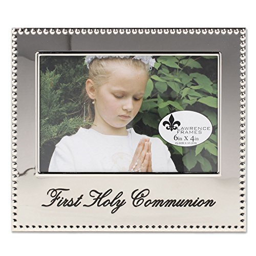 (Lawrence Frames 4x6 First Holy Communion Picture Frame )