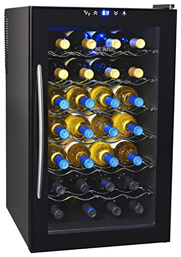 Looking for the best thermoelectric wine cooler? Check out the NewAir AW-280E 28 Bottle Thermoelectric Wine Cooler
