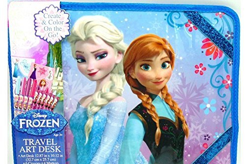 Disney Frozen Travel Art Desk