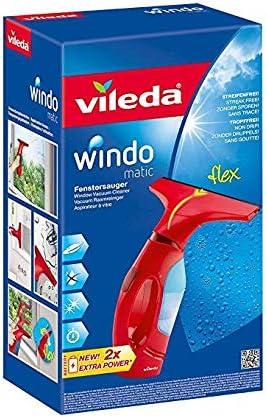 Vileda Windomatic - Aspirador de ventanas con labio de goma ...