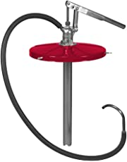 Alemite 7117-1 Hand Operated Medium Pressure Fluid Pump, For 5 gal Pail, Delivery 2.6 oz/Stroke, 5' Material Hose