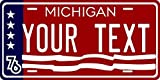 chengdar732 Michigan 1976 Personalized Custom Novelty Tag Vehicle Car Auto Motorcycle Moped Bike Bicycle License Plate