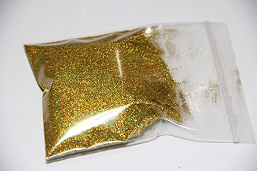 Ultra Sparkle - Gold 25g Holographic ULTRA EXTRA FINE 0.004