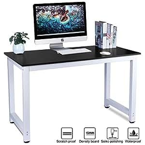 Lasuavy escritorio para ordenador mesa de oficina mesa - Oficina electronica de empleo ...