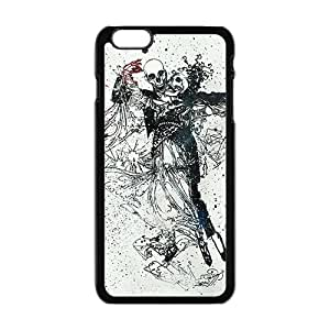 LINGH Skull Phone Case for iPhone 6 Plus Case