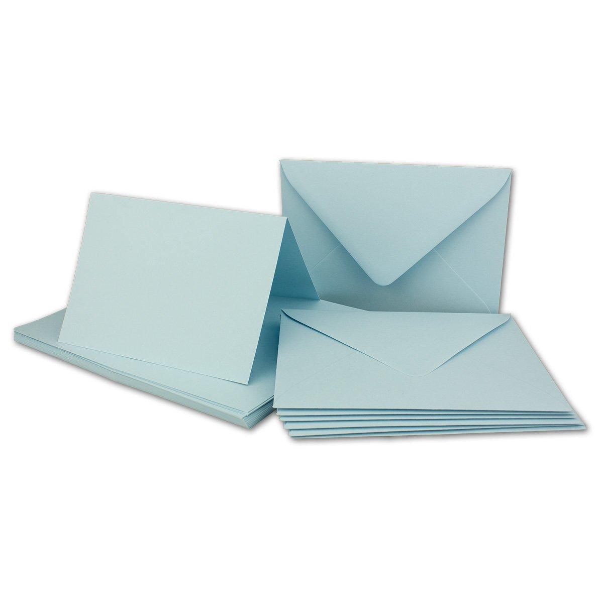 Faltkarten Set mit Brief-Umschlägen DIN A6     C6 in Rosanrot   100 Sets   14,8 x 10,5 cm   Premium Qualität   Serie FarbenFroh® B072563G5B | Sehr gelobt und vom Publikum der Verbraucher geschätzt  335ef3