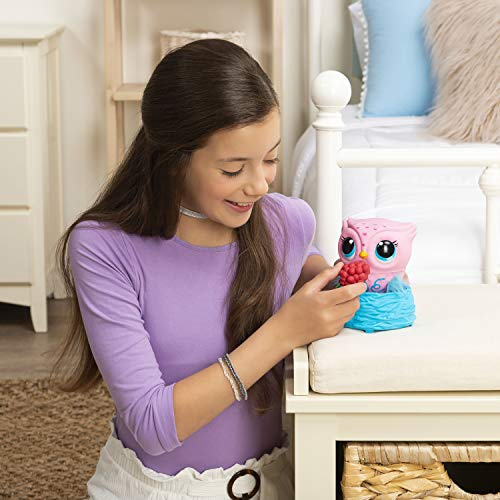 51Omye%2BH9JL - Owleez, Flying Baby Owl Interactive Toy with Lights & Sounds (Pink), for Kids Aged 6 & Up
