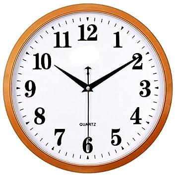 Reloj de pared moderno Dibujo creativo calendario silencio reloj de pared relojes de cuarzo círculo familiar Reloj de pared reloj electrónico, ...