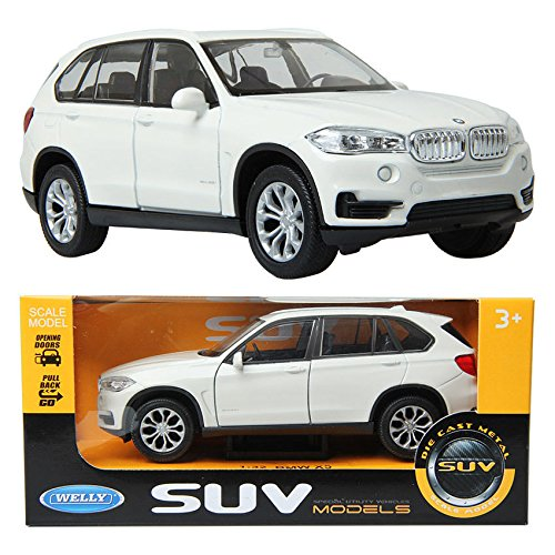 WELLY 1:32 BMW X5 / Ivory /Children /Toy /DIE-CAST Toy/ Miniature car