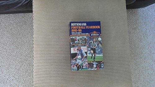 Rothman's Football Year Book 1995-96 por Jack Rollin