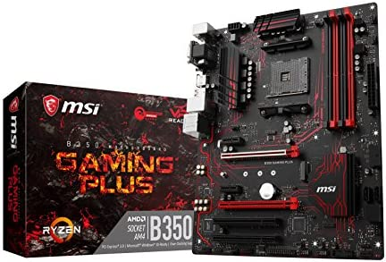 MSI B350 Gaming Plus - Placa Base Performance (AMD AM4 Chipset ...