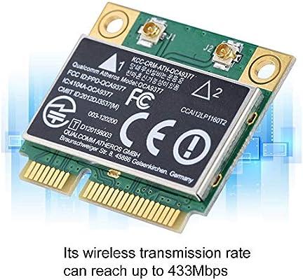 Tarjeta de Red de Banda Dual, 2.4G / 5GHz 433Mbps Tarjeta de red ...
