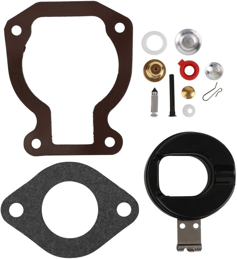 CQYD 398453 Carb Repair Carburetor Rebuild Kit for with Float 4-15 hp Johnson Evinrude 398452 391305 439072 391937