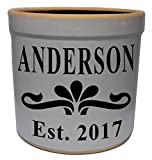 3 Gallon Personalized Stoneware Crock – Teaberry Review
