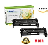Ampro's CF226A MICR Compatible Toner Cartridge Replacement for HP CF226A Micr or HP 26A for HP LaserJet Pro M402 M426 MFP Series. (2 Pack)