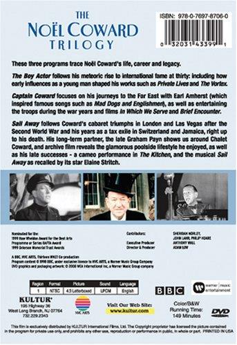 Noel Coward Trilogy: The Boy Actor, Captain Coward, Sail Away