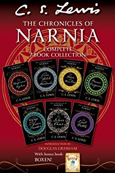 The Chronicles of Narnia Complete 7-Book Collection with Bonus Book: Boxen by [Lewis, C. S.]