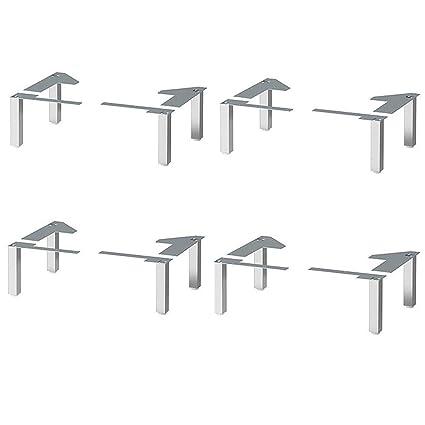 IKEA LILLANGEN, patas de acero inoxidable para baño armarios ...