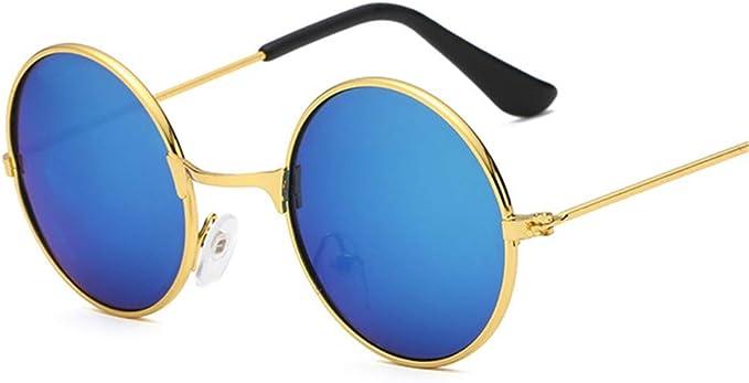 Kinder Kind Junge Mädchen Retro UV400 Sonnenbrille Metallrahmen Sonnenbrille Neu