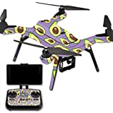 MightySkins Protective Vinyl Skin Decal for 3DR Solo Drone Quadcopter wrap cover sticker skins Purple Avocados
