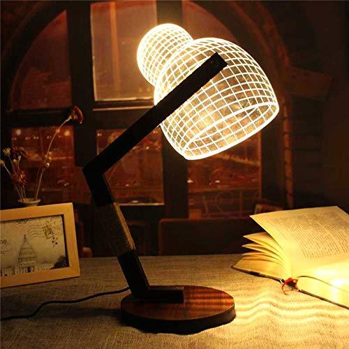 3D LED Wool Cap Lamp Illuminated USB Adjustable Dimmable Light Desk Night Lamp Creativity Gift Night Light Home Decor