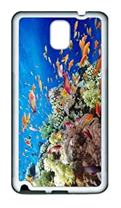 ICORER Vintage Samsung Galaxy Note 3 Cases Sea Creature Design Samsung Note 3 Case TPU White Case for Samsung Galaxy Note 3 / SIII / I9300