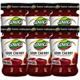 Sour Cherry Jam 280g Lowicz Pack of 6