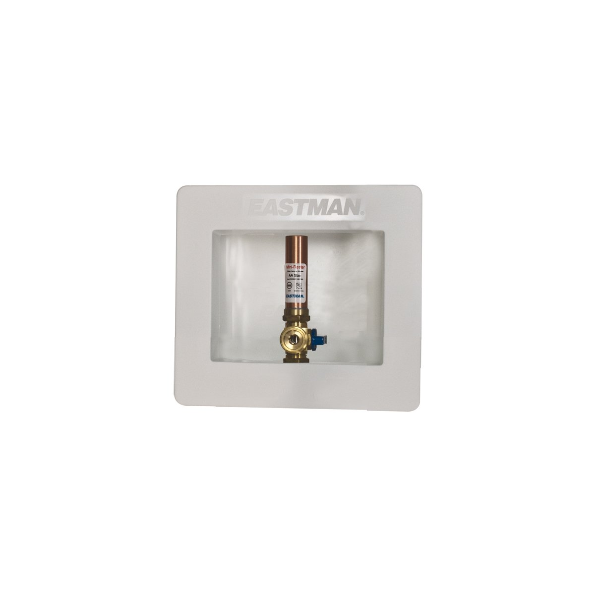 Eastman 60241 Sweat Ice Maker Box with Hammer Arrester, 1/2 Sweat Inlet, White 1/2 Sweat Inlet EZ-FLO