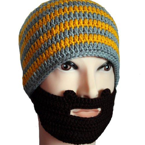Fisher Unisex Stubble Beard Beanie