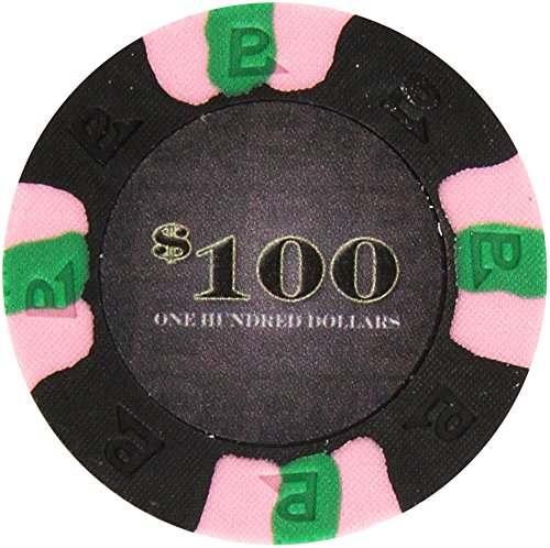 Trademark Poker NexGEN 6000 Series PRO Classic Style Poker Chips (Set of 50), 9gm, (Pro Classic Poker Chips)