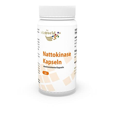 Nattokinase, Nattokinasa Natto 90 Cápsulas Vita World Farmacia ...