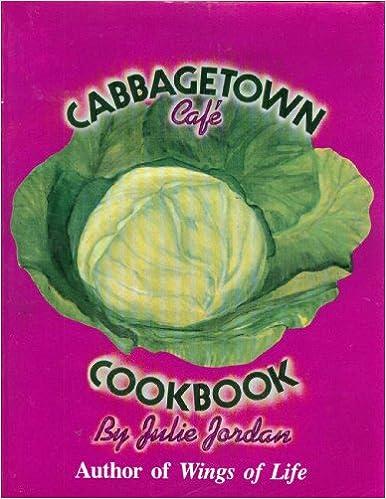 The cabbagetown cafe cookbook julie jordan 9780895941923 amazon the cabbagetown cafe cookbook julie jordan 9780895941923 amazon books forumfinder Image collections