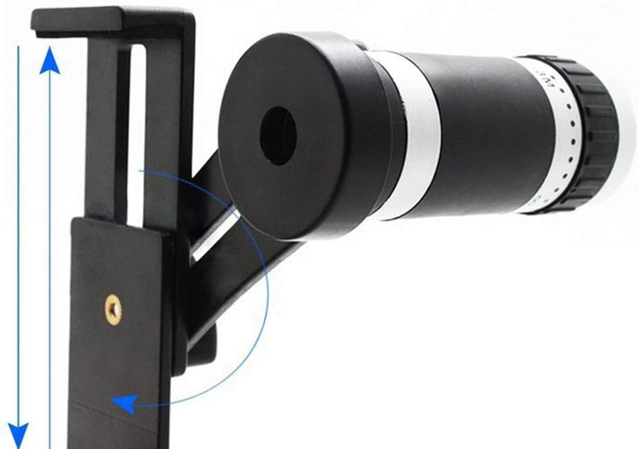 8X Telephoto Mobile Phone Camera Lens with Mobile Phone Clip for Most Smartphones GWX Photographed External Mobile Phone Lens