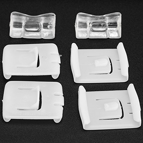 Seat Belt Runner Clips Seat Guide Slider for Volkswagen VW MK1 MK2 MK3 Rabbit Golf Corrado (Set of 2)