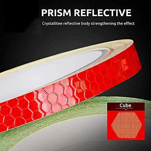 Universal Car Bicycles Reflective Sticker Outdoor Night Warning Sticke Tape P7C3