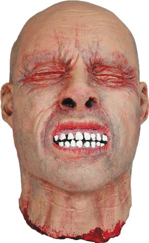 UHC Scary Realistic Severed Cut-Off Head Party Decoration Latex Halloween (Head Halloween Prop)