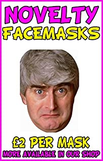 Diy do it yourself face mask father ted celebrity face mask father ted novelty celebrity face mask party mask stag mask solutioingenieria Choice Image