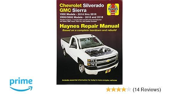2014 silverado chilton manual